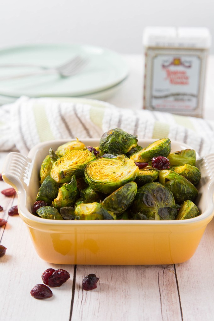 Curry-Roasted Brussels Sprouts 2| The Missing Lokness