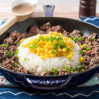 Skillet Teriyaki Beef and Rice