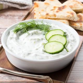 Tzatziki (Cucumber Yogurt Dip)