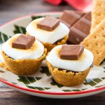 Mini S'mores Cups #smores #minidessert #chocolate #summer | The Missing Lokness