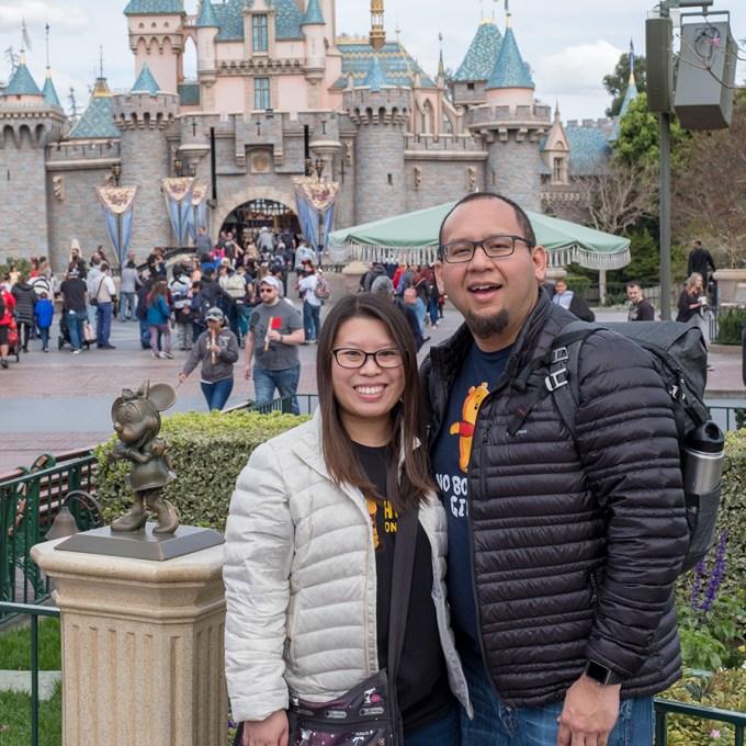At Disneyland 2018