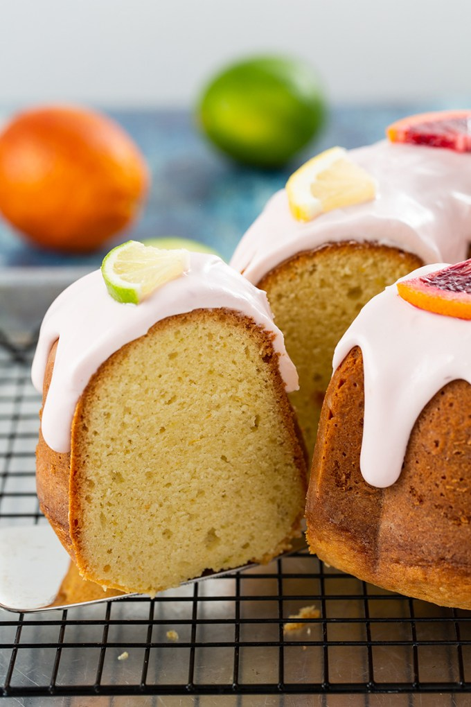 Citrus Bundt Cake #cake #bundtcake #citrus #citrusbundtcake #bloodorange #baking #dessert #dessertrecipe | The Missing Lokness