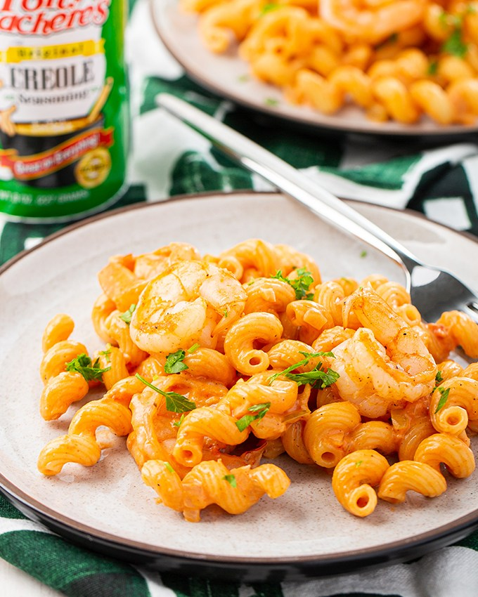 Creamy Creole Pasta with Shrimp #creole #creolepasta #pasta #shrimp #easyrecipe #dinner #dinnerrecipe| The Missing Lokness