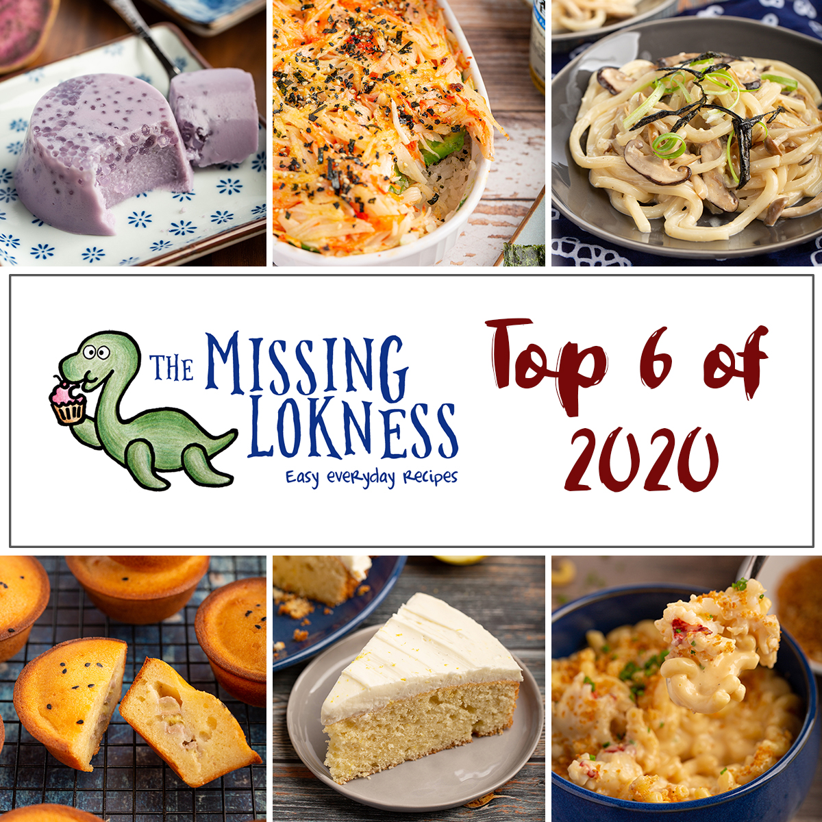 2020 Top 6 Recipes #2020 #top6 #recipe #roundup #themissinglokness | The Missing Lokness