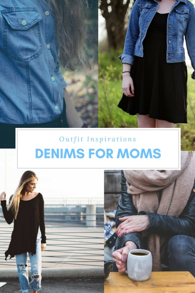 Denim Outfit Inspirations for Moms