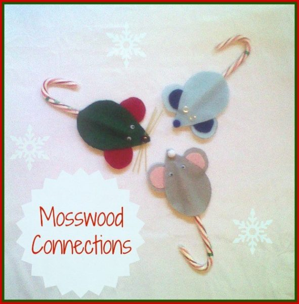 Christmas Ornaments to Make with the Kids - Mice Ornament