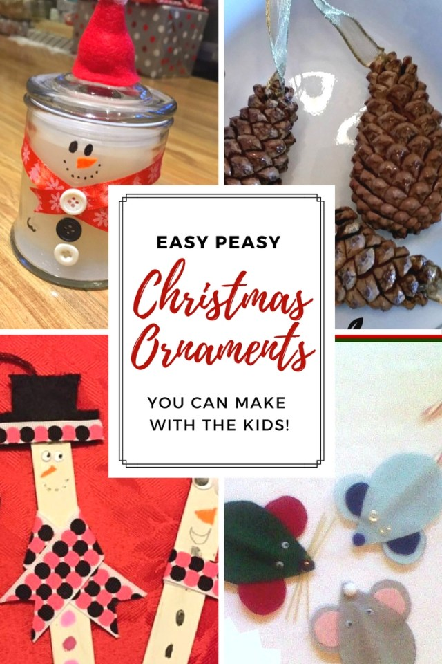 Christmas Ornaments to Make with the Kids