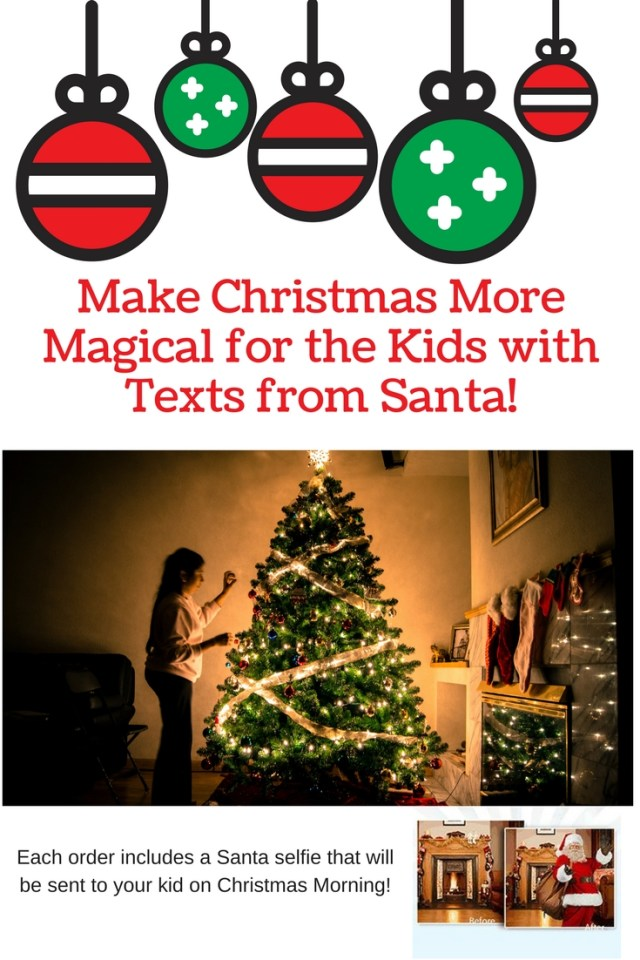 Make Christmas More Magical for the Kids with Texts from Santa - Text Message from Santa