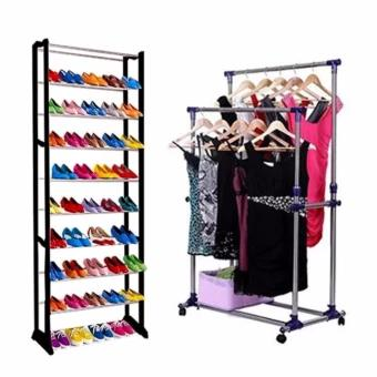 Storage Products - clothes and shoe rack