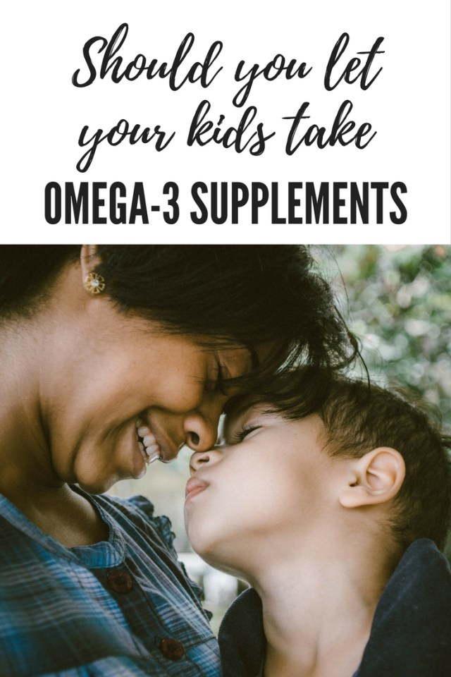 Should you let your kids take Omega 3 supplements (2)