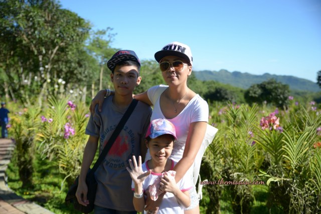 Family Day at the Cebu Safari and Adventure Park - Blooming Orchids