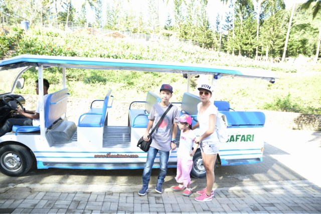 Family Day at the Cebu Safari and Adventure Park - Tram Ride