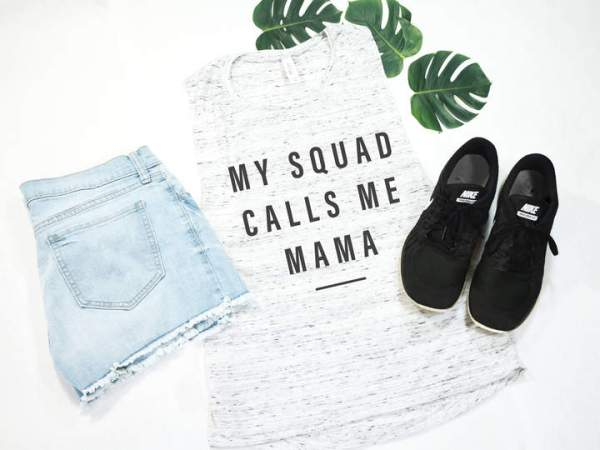 23 Awesome Mom Life Shirts You Need In Your Life Right Now-My squad calls me mama