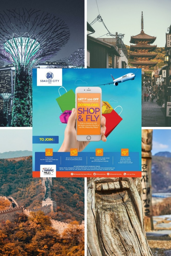 SM Seaside City Cebu to take mallgoers to experience Asia with SM Supermalls Mobile App