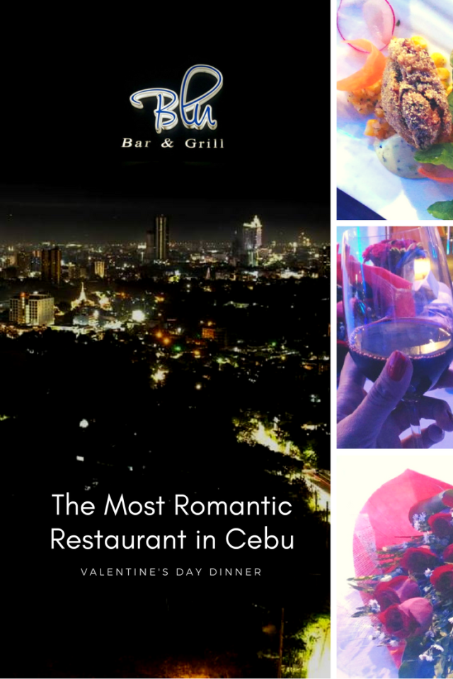 Valentine's Day Dinner in the Most Romantic Restaurant in Cebu - Blu Bar and Grill