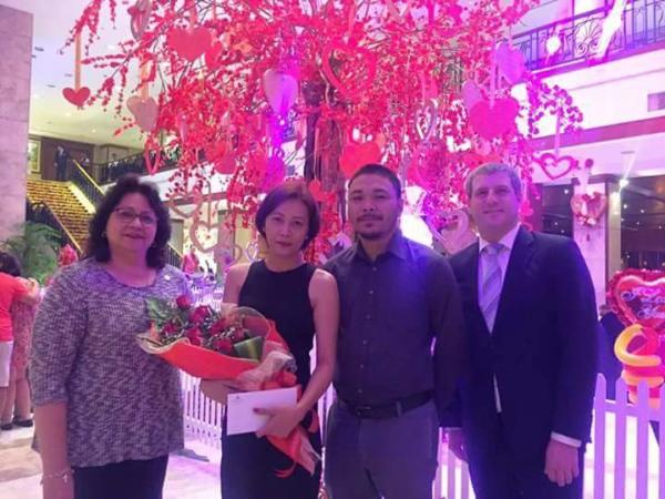 Valentine's Day Dinner in the Most Romantic Restaurant in Cebu - Xavier Masson and Julie Najar