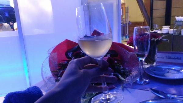 Valentine's Day Dinner in the most Romantic Restaurant in Cebu - More Wine
