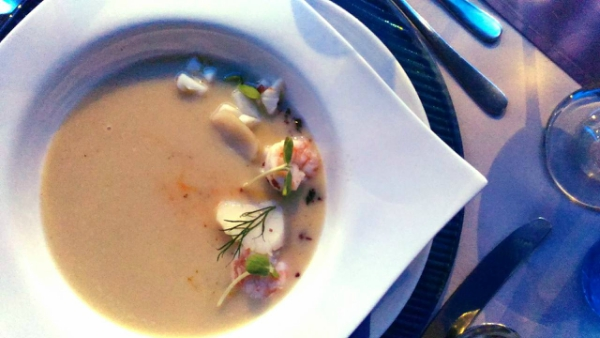 Valentine's Day Dinner in the most Romantic Restaurant in Cebu - Seafood Chowder