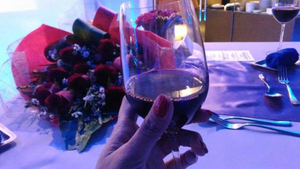 Valentine's Day Dinner in the most Romantic Restaurant in Cebu - Wine