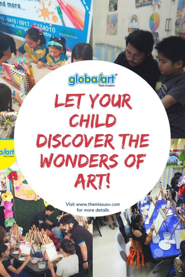 World Class Art Classes in Cebu with GlobalArt