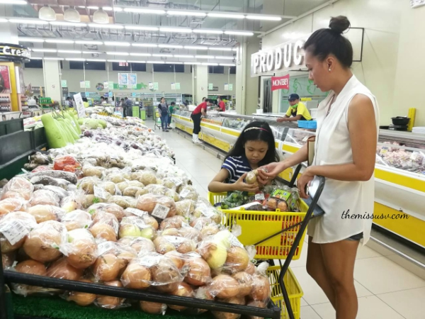 Beam and Go Remittance Service - Full Review - Gaisano Capital South - Vegetables