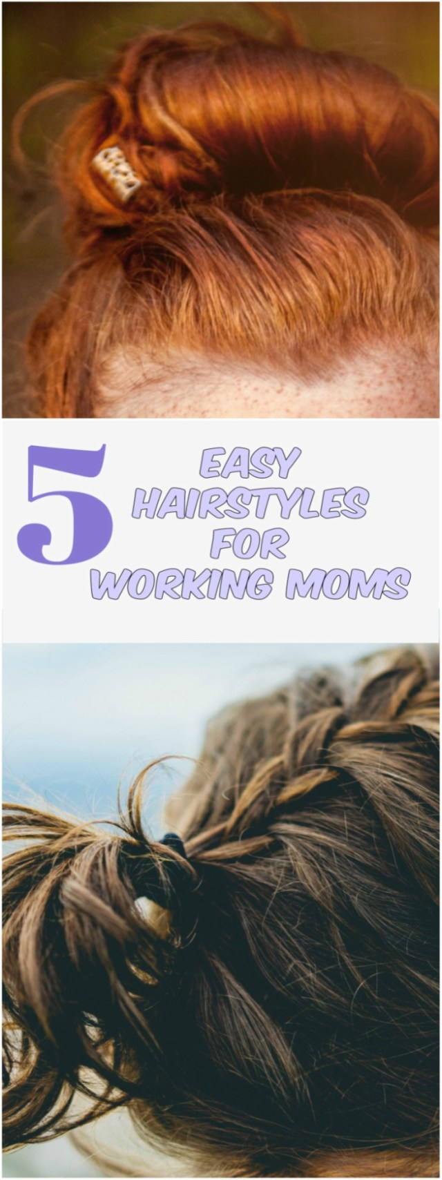 Office Hairstyles For Working Moms