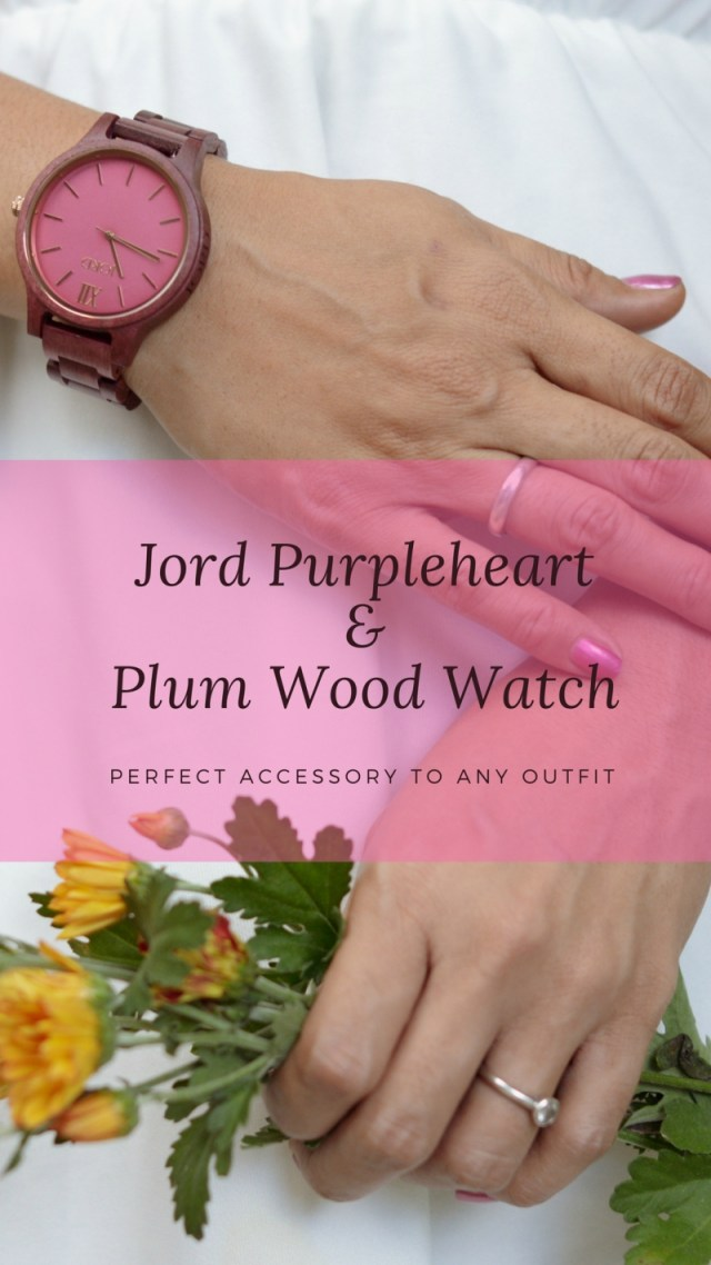 Jord Purpleheart & Plum Wood Watch Review and a Giveaway