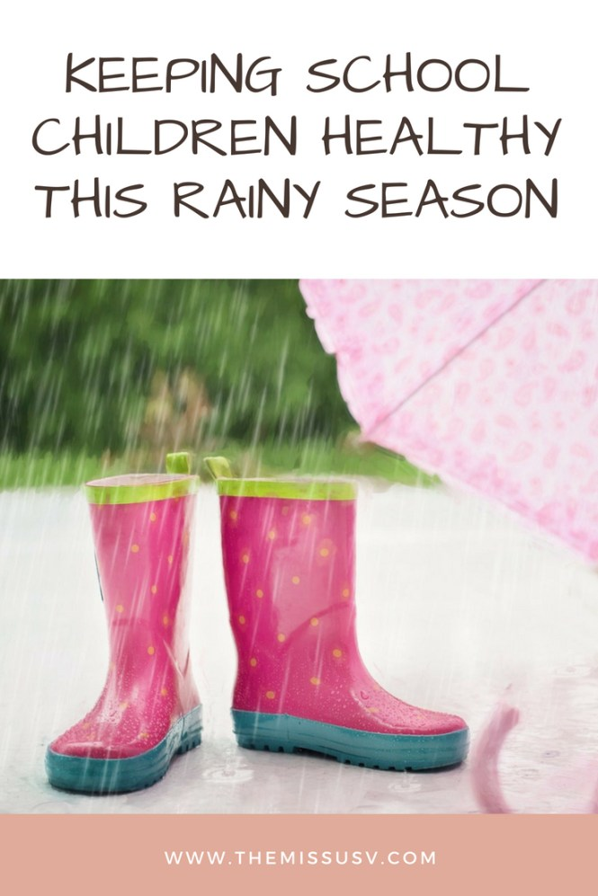 Keeping School Children Healthy this Rainy Season