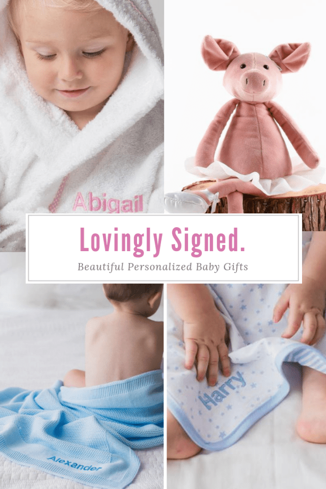 Lovingly Signed Personalized Baby Gifts