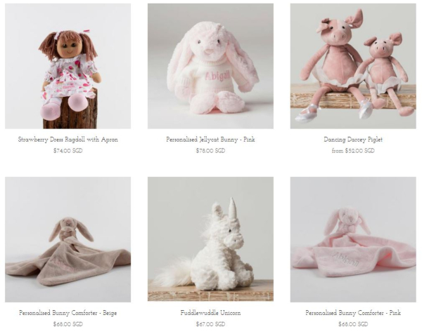 Personalized Baby Gifts - Soft Toys for Babies (1)