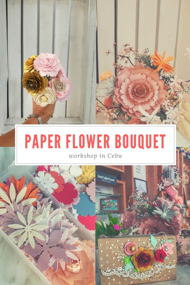 Paper Flower Bouquet Workshop at The Joint Craft and Meeting House