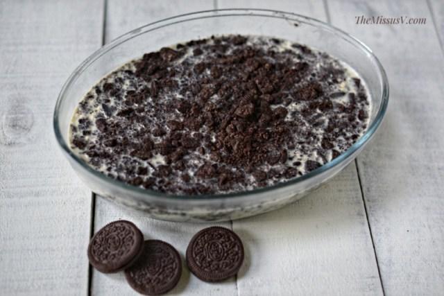 Oreo Float Recipe - No Bake Dessert