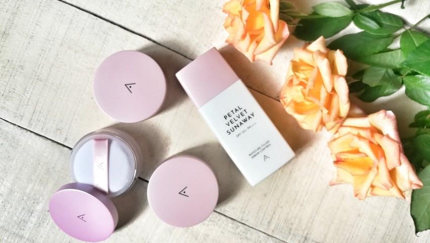 Korean Face Powder and Sunscreen for Oily & Acne Prone Skin - Petal Velvet Review