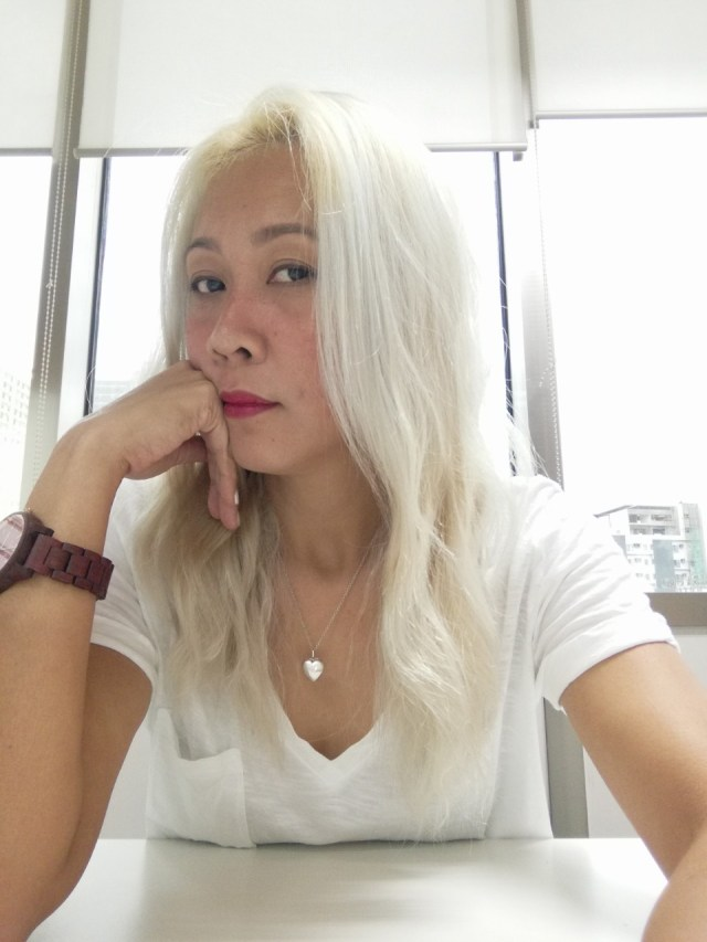 Dye Asian Hair White at Home