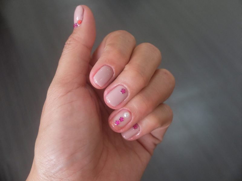 Trying Gel Nail Polish and Nail Art for the First Time at Fattima Jo Salon- Pink Nails