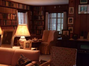 This is where Eleanor met with JFK, as he was seeking her endorsement for the Democratic Presidential nomination. He got it!