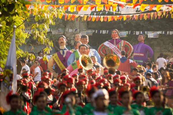 The Higantes Festival Angono Rizal Philippines The