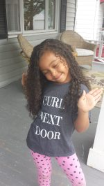 Curl Next Door_ Happy Smile _ by The Mixed Mama Blog