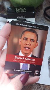Surprising way to learn Black History by Mixed Family Life - Obama Card