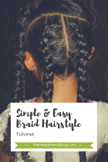 simple & easy braid hairstyle