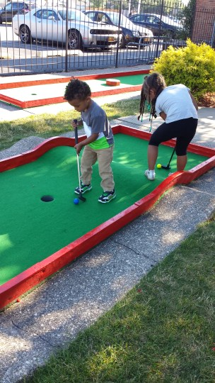 Mini Golf at Adventure Landing _ Family Fridays