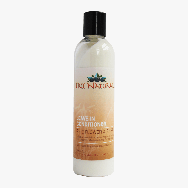 Tree Naturals Rice Flower & Shea Leave In Conditioner, Front