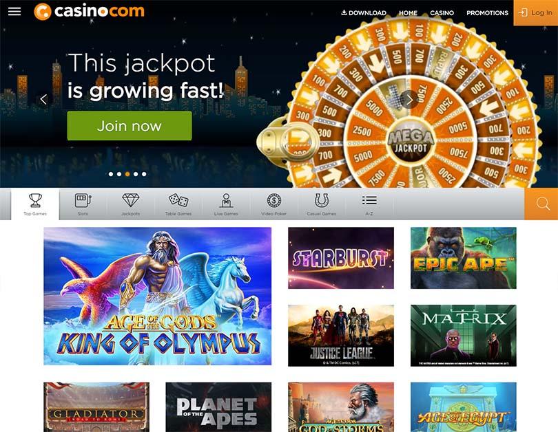 Casino-com UK games