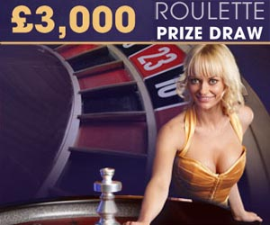 William Hill Mobile Live Casino 3K bonus roulatte