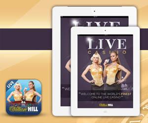 William Hill Mobile Live Casino ipad