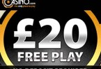 Casino.com Mobilr Casino No Depsot £20 free