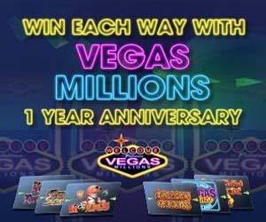 William Hill mobile Vegas Millions Cashbacks