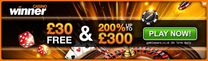 Winner Mobile casino online casino 30 Free casino no deposit