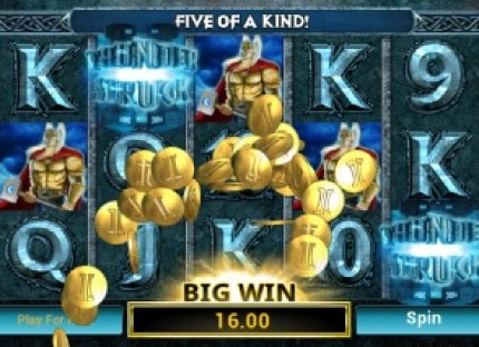 thunderstruck II mobile slot big win