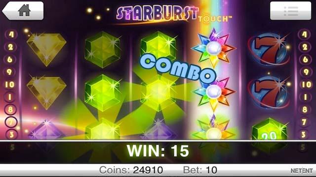 Starburst slots combo